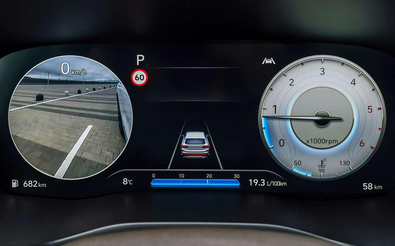 Обновленный Hyundai Santa Fe: тест самой мощной версии— фото 1249465