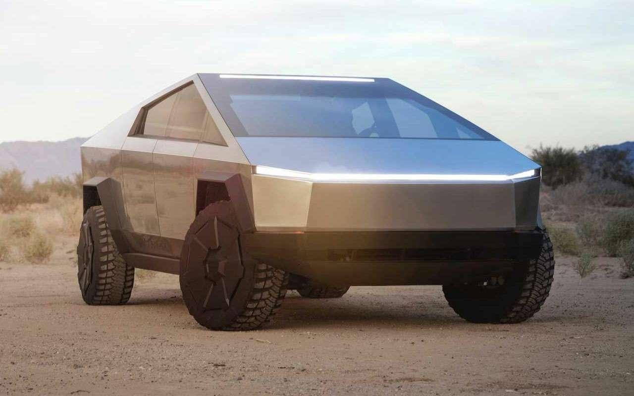 Tesla представила пикап-броневик Cybertruck, который уже хотят «развидеть»— фото 1010690