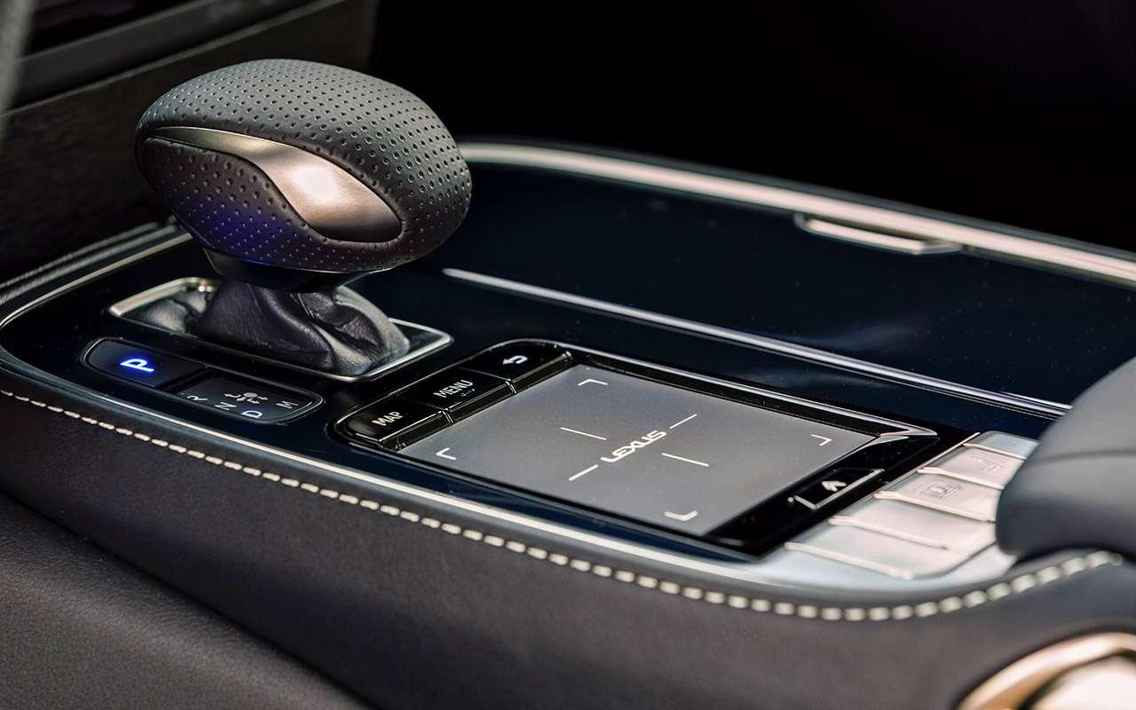 Новый Lexus LS— тест-драйв ЗР— фото 812432