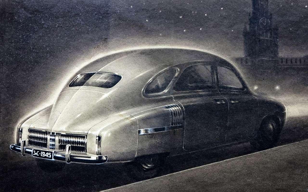 Всяправда офантазиях: авангардные проекты автопрома СССР— фото 897951