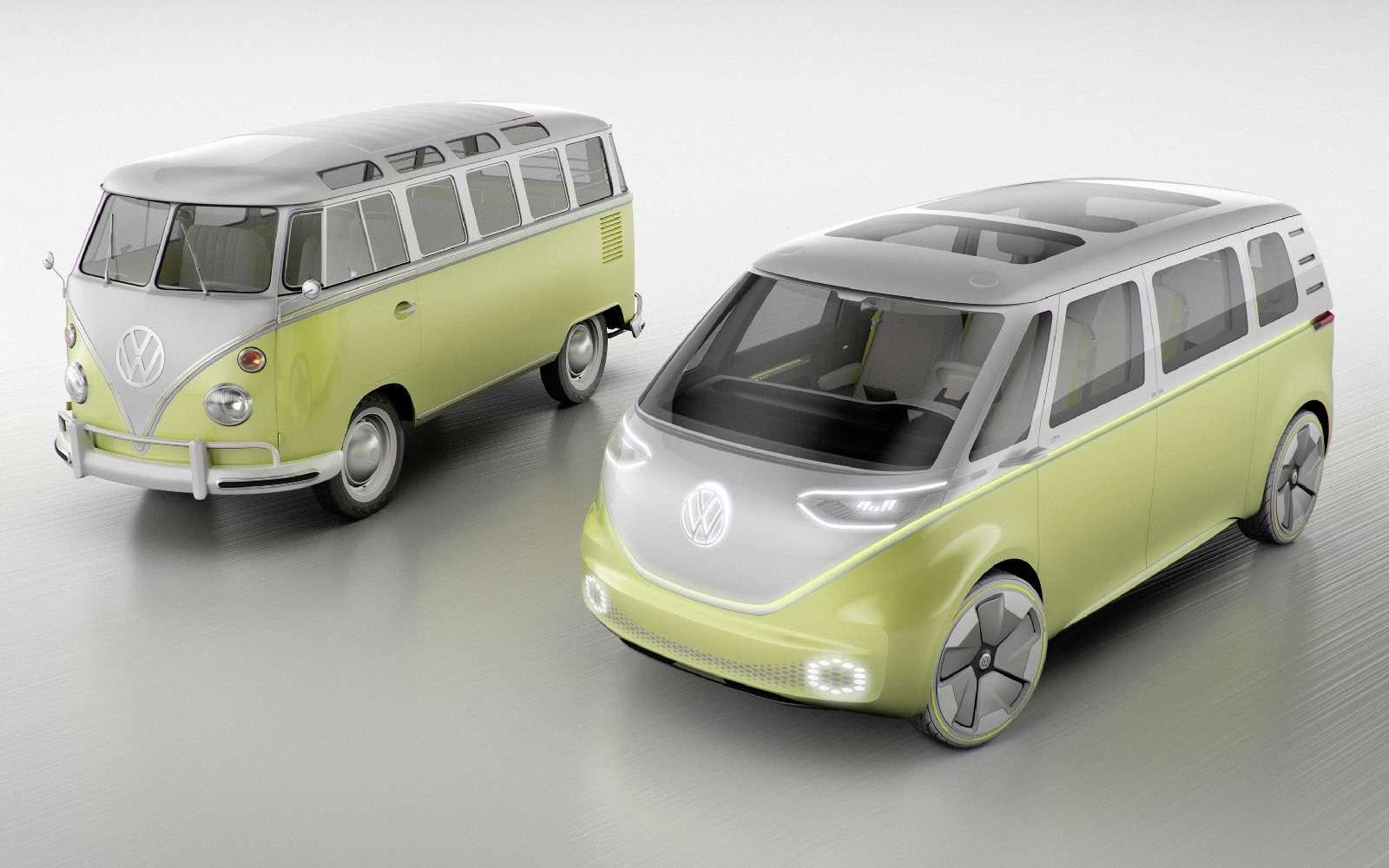 Volkswagen I.D.Buzz: между хиппи ихипстерами— фото 690413