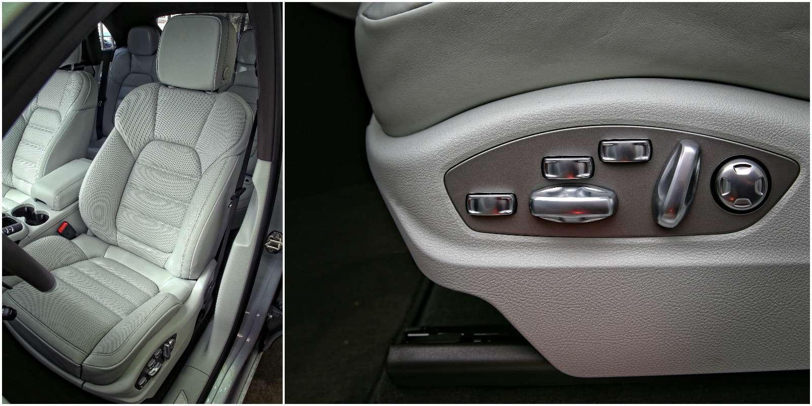 Кресла Porsche Macan