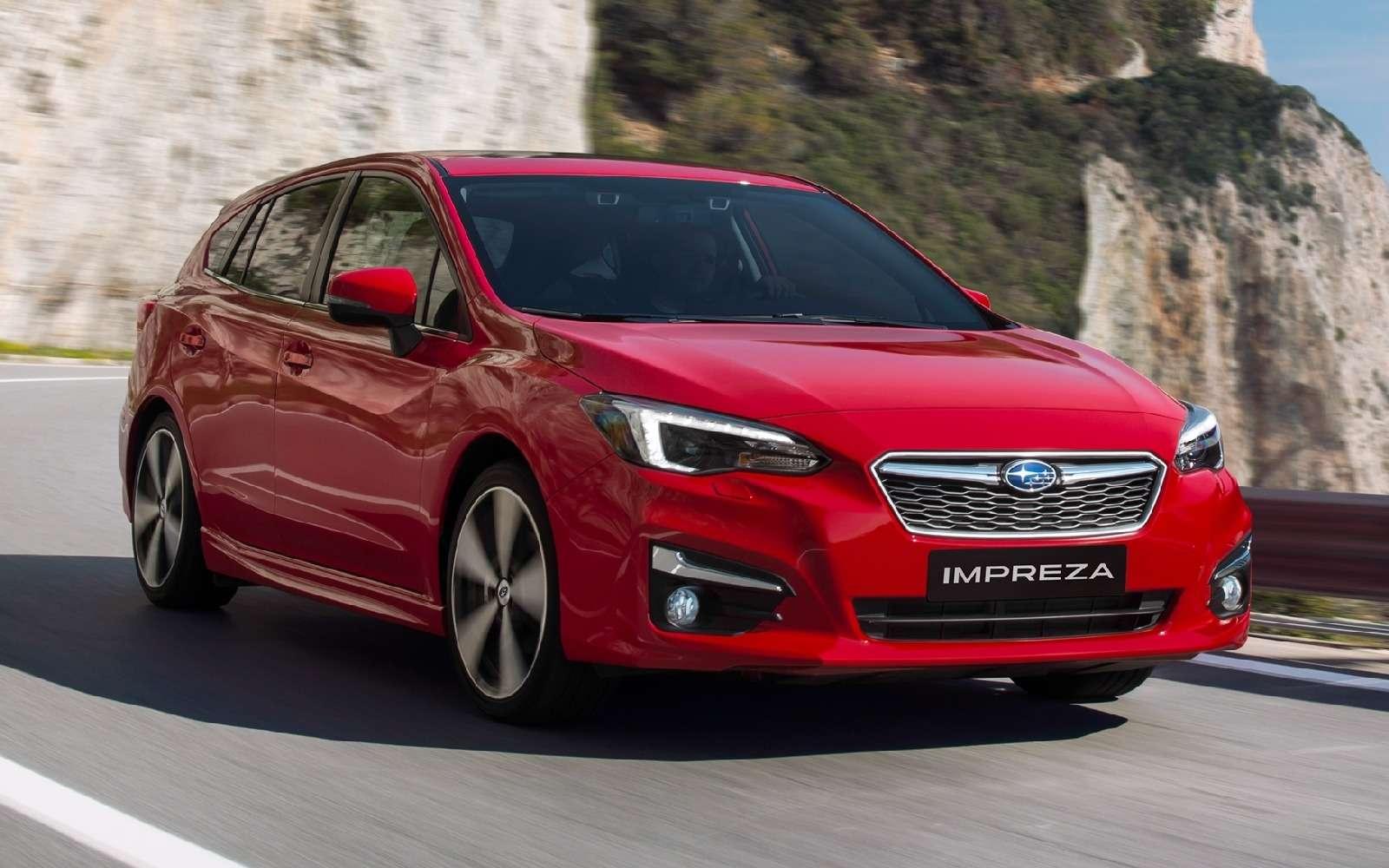 Новая Subaru Impreza— анонсирована европейская премьера— фото 770865