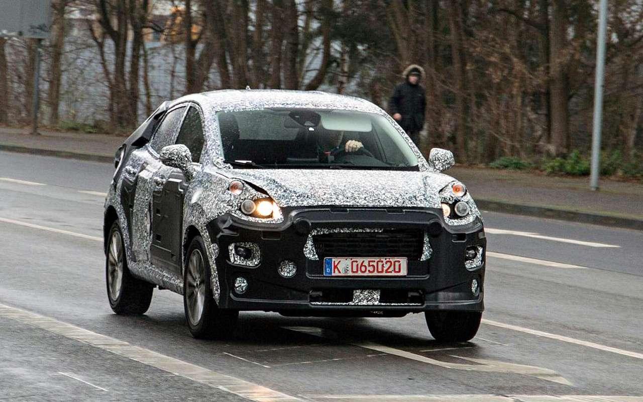 Ford заменит EcoSport наFiesta SUV— фото 942526
