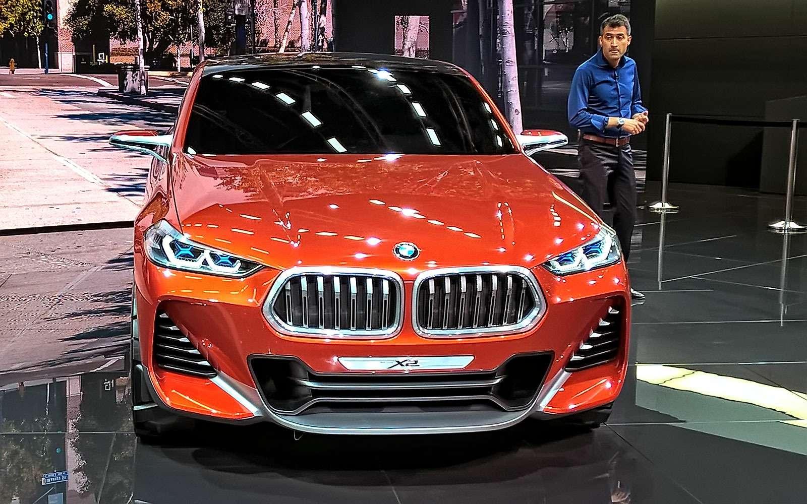 «Два икса»: BMW представила очередной нишевый паркетник— фото 641904