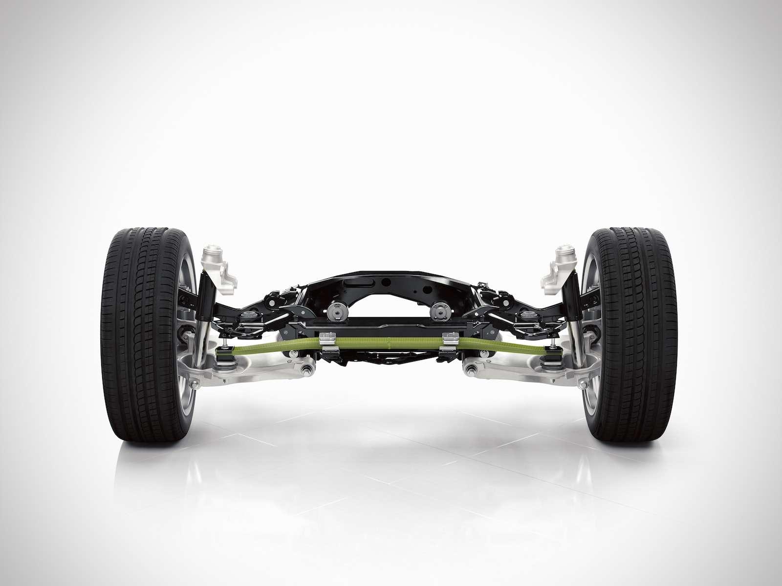 125Rear suspension