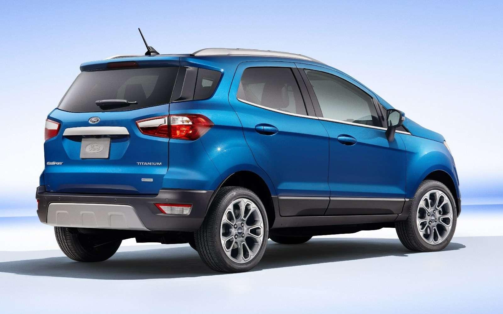 Обновленному паркетнику Ford EcoSport прикрутили планшет— фото 664113