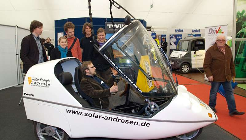 Первое ралли электромобилей Emobil-Rally прошло вЕвропе