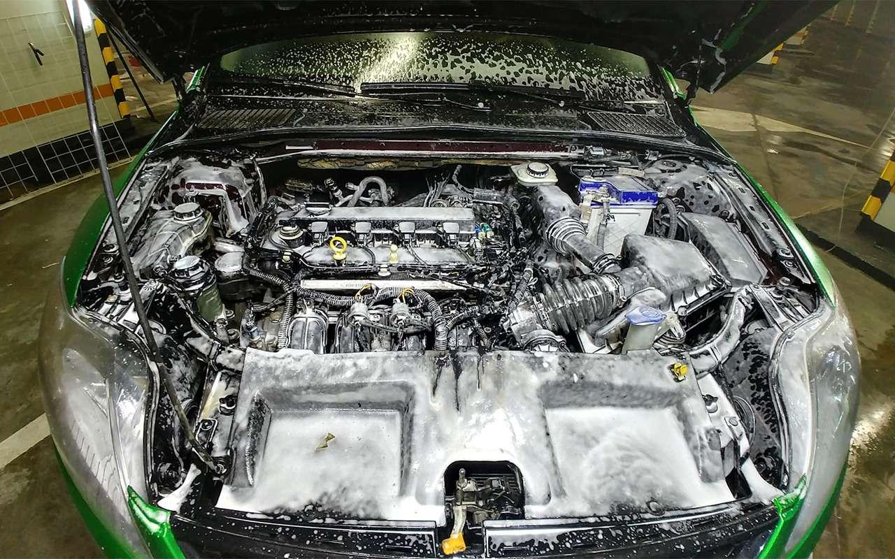 Когда надо мыть двигатель, акогда— вредно! Советы эксперта— фото 857344