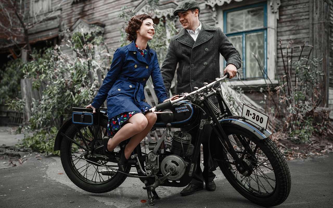 Первый серийный советский мотоцикл: история одной копии— фото 908505