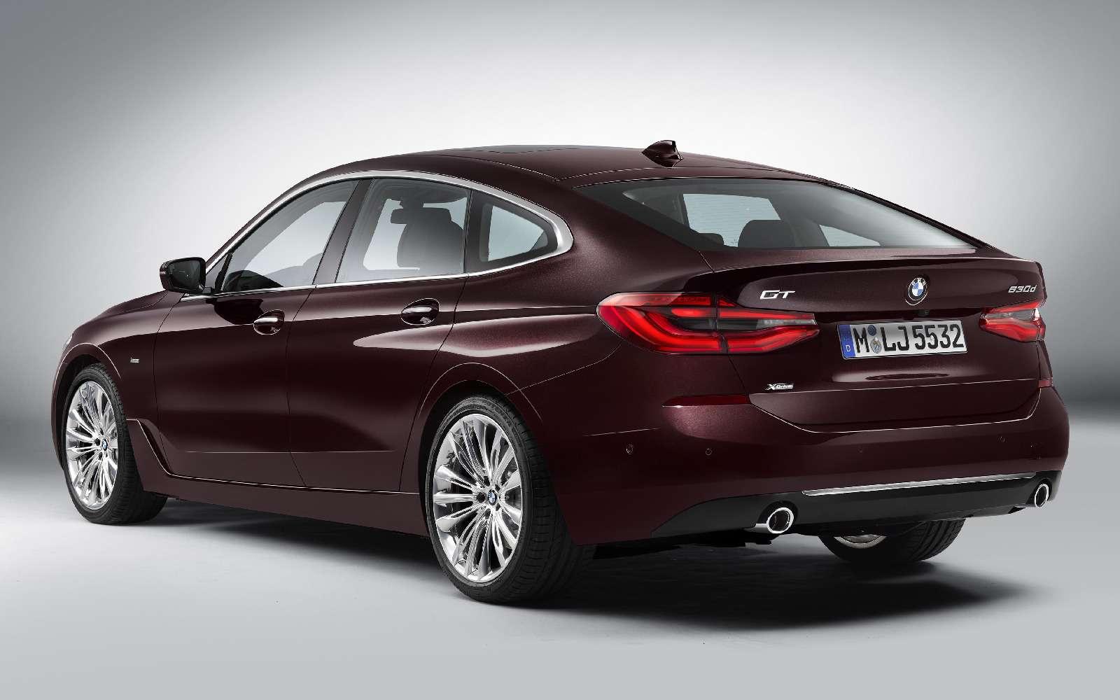Новый лифтбек BMW 6-й серии Gran Turismo— лучше, чем «сарай»!— фото 764534
