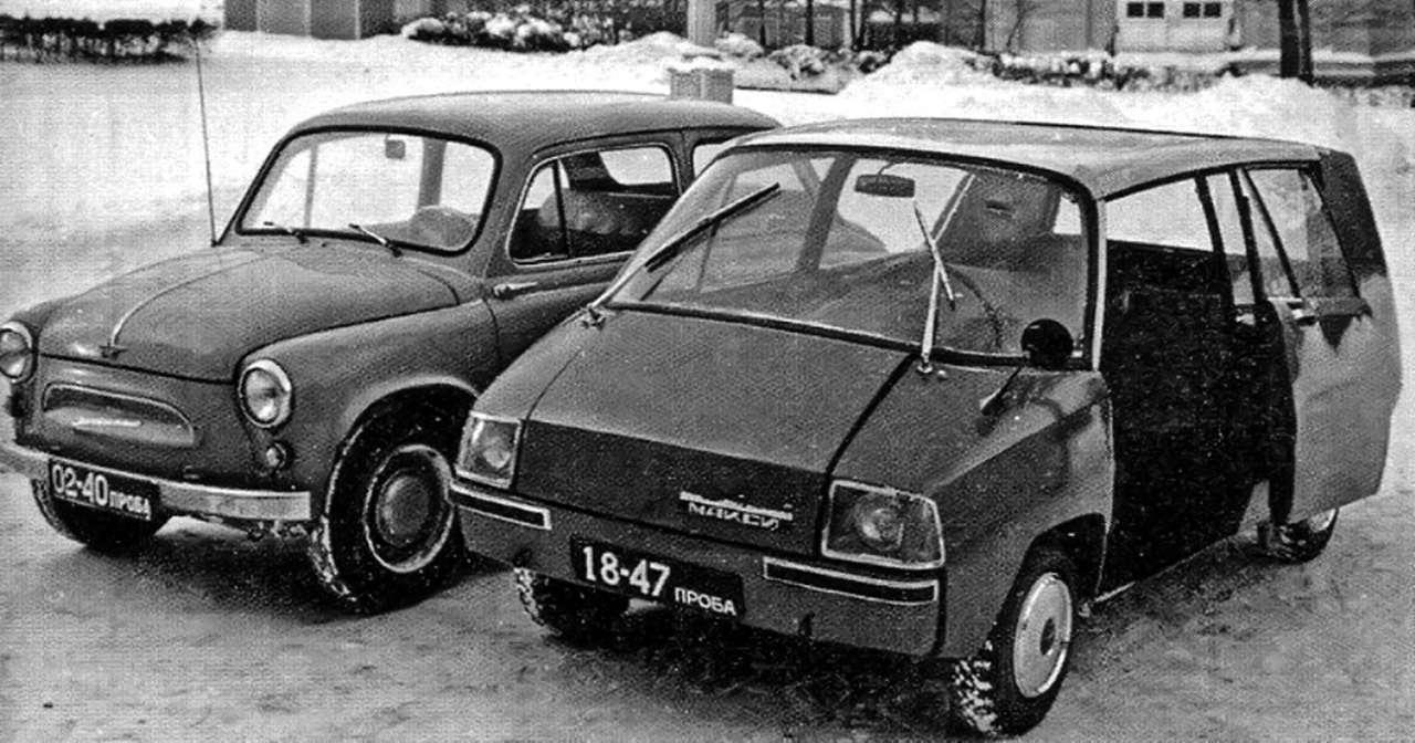 Всяправда офантазиях: авангардные проекты автопрома СССР— фото 897965