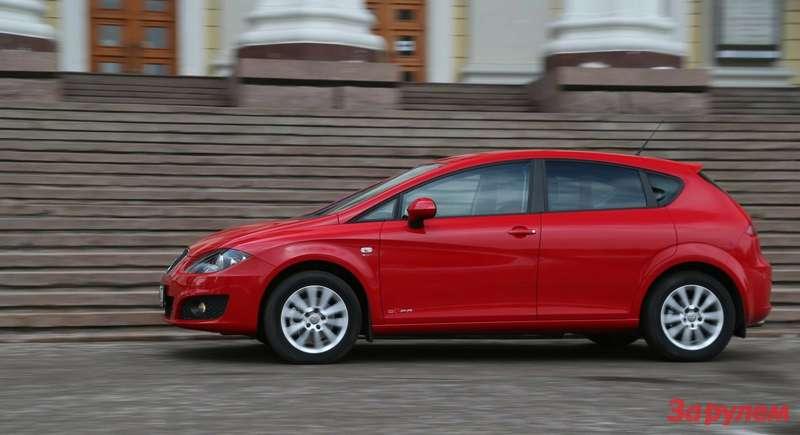 SEAT Leon Copa Plus: первые 100 километров