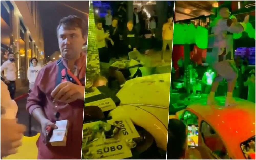 Лишенный прав блогер Литвин проломил машиной стену ресторана