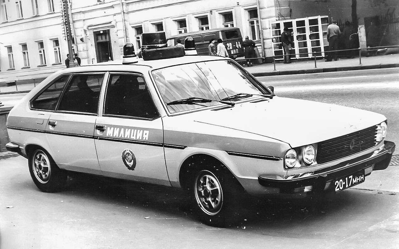 Renault 30в милиции