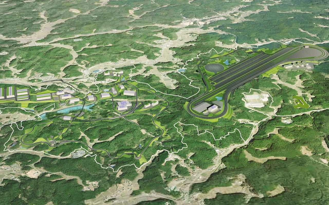 Зеленый адусебя дома: Toyota построила свой Нюрбургринг— фото 970629