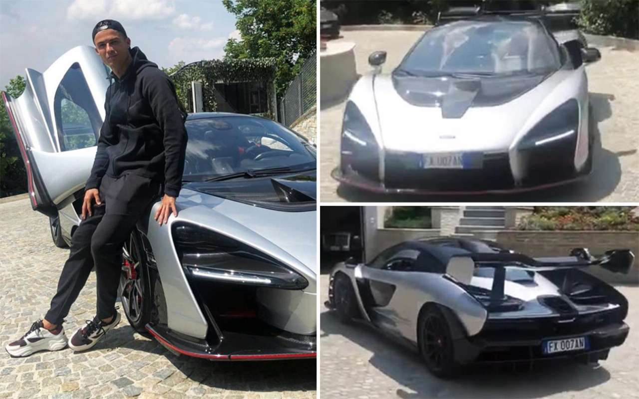 Новая игрушка Роналду— изучаем McLaren Senna за1000000 евро— фото 977134