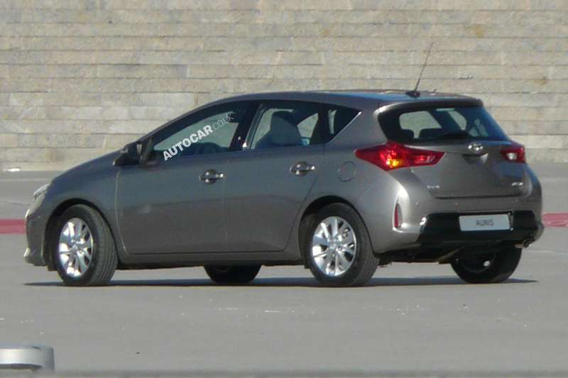 New Toyota Auris side-front view