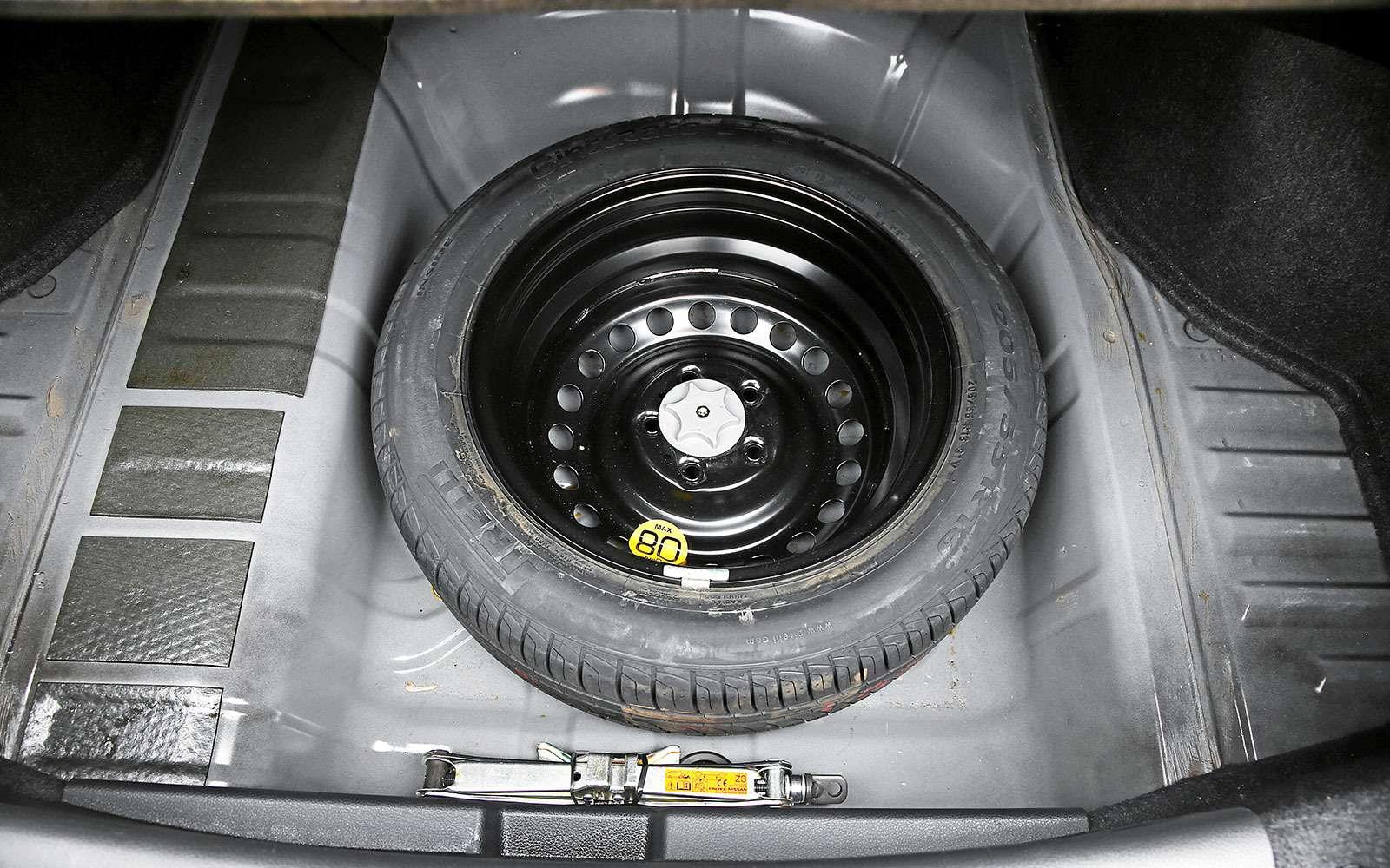 Запасное колесо Nissan Sentra