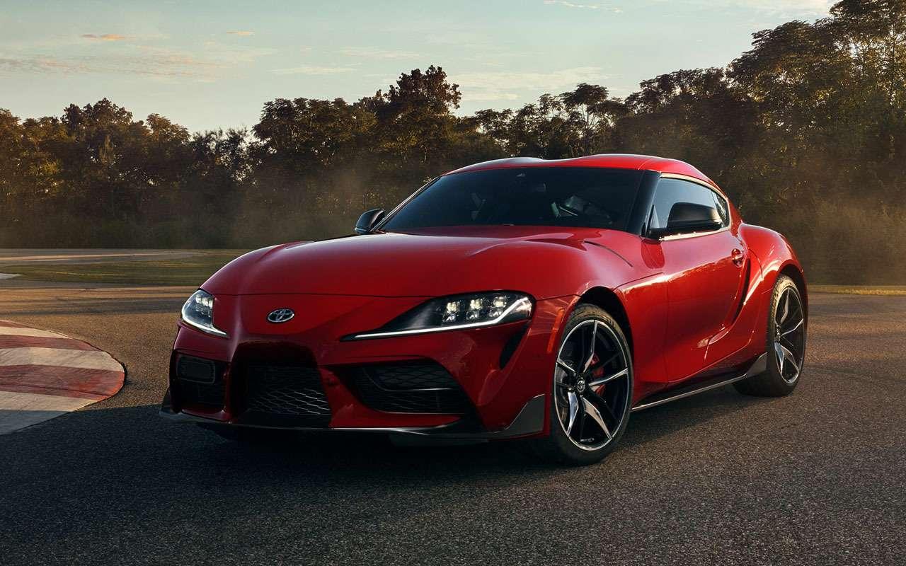 Toyota патентует новый спорткар— фото 965718