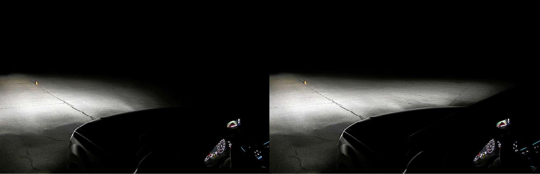Супертест светодиодных фар: какая из10машин заглянет дальше?— фото 601198