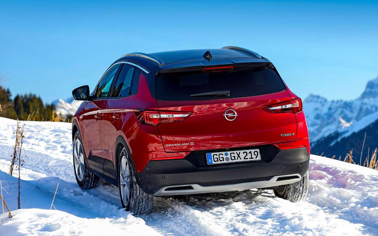 Первый Opel дляРоссии: тест-драйв кроссовера Grandland X— фото 1058348