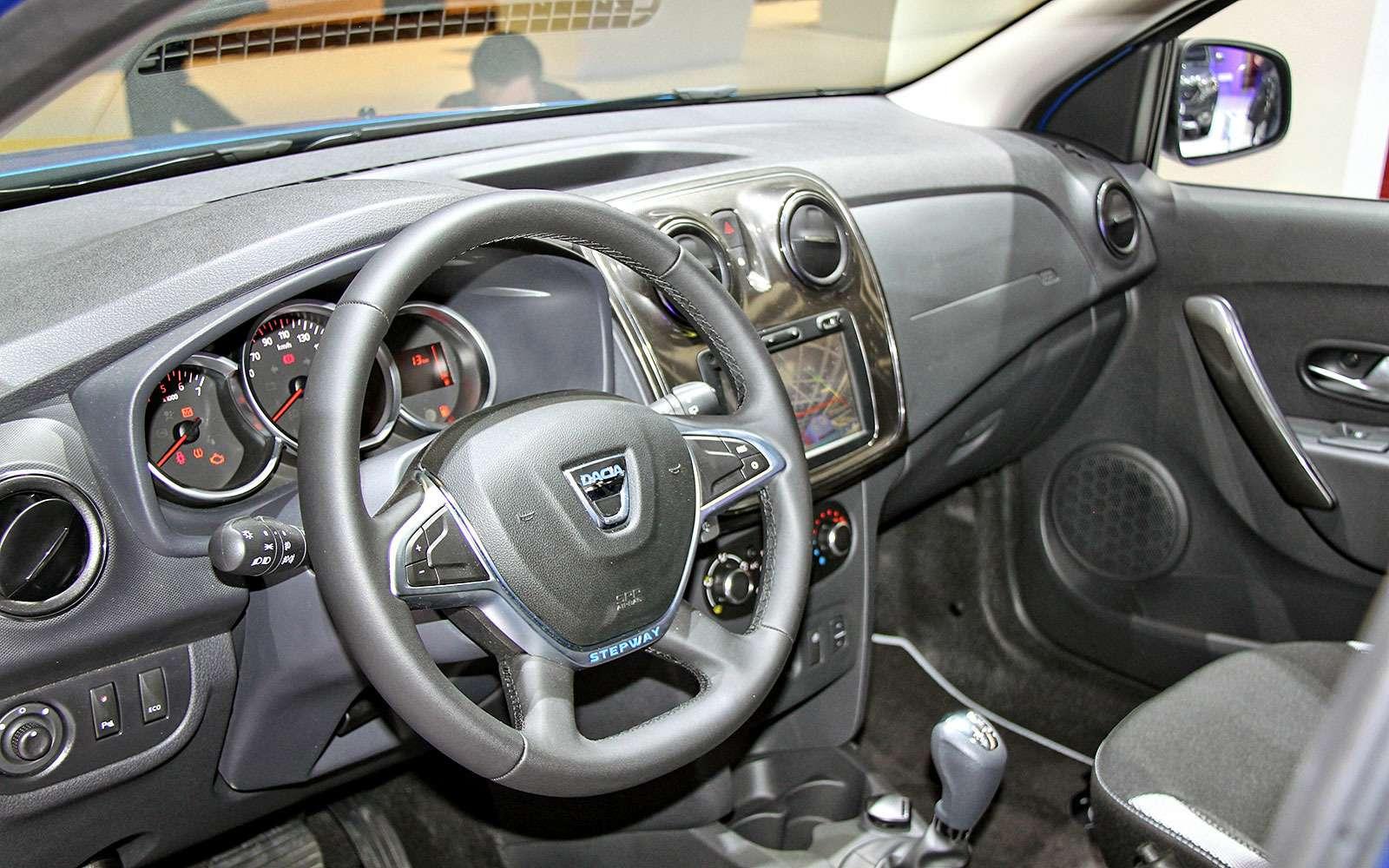 Подняться надЛоганом: Dacia представила вЖеневе кросс-универсал MCV Stepway— фото 717835