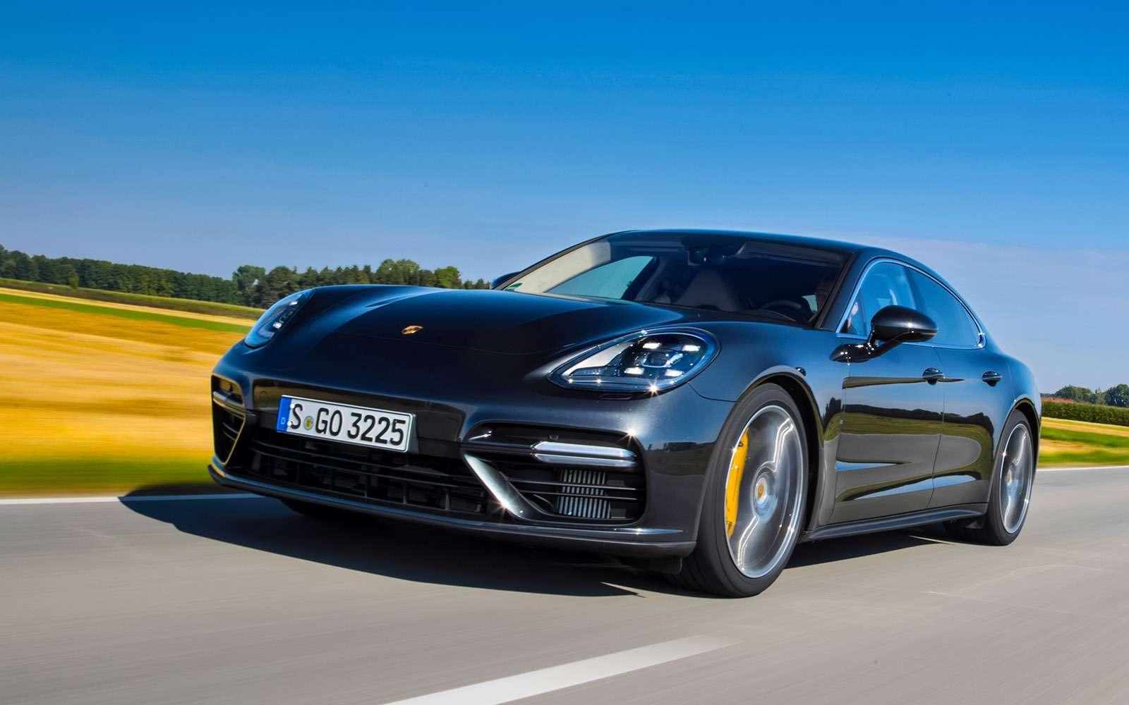 Porsche Panamera 2017: цитата из911— фото 644150