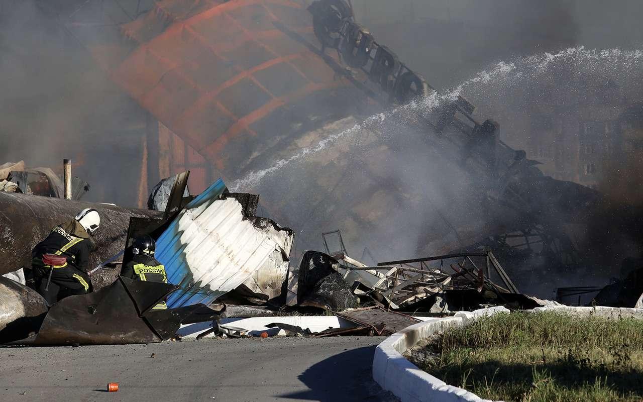 Преступная халатность: 35пострадавших при взрыве АЗС вжилой зоне