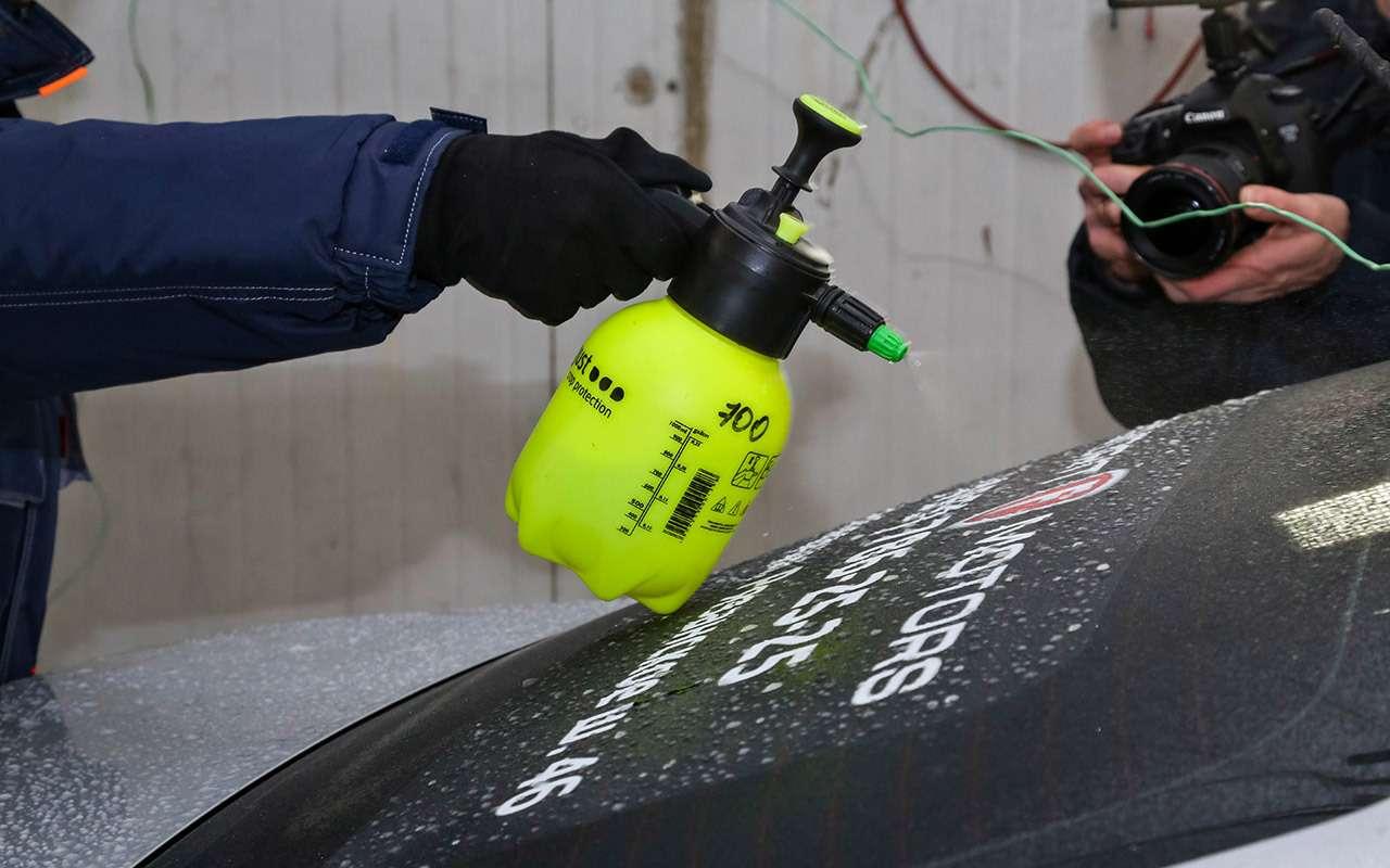 Нужно либояться дизеля зимой? Тест-заморозка— фото 840200