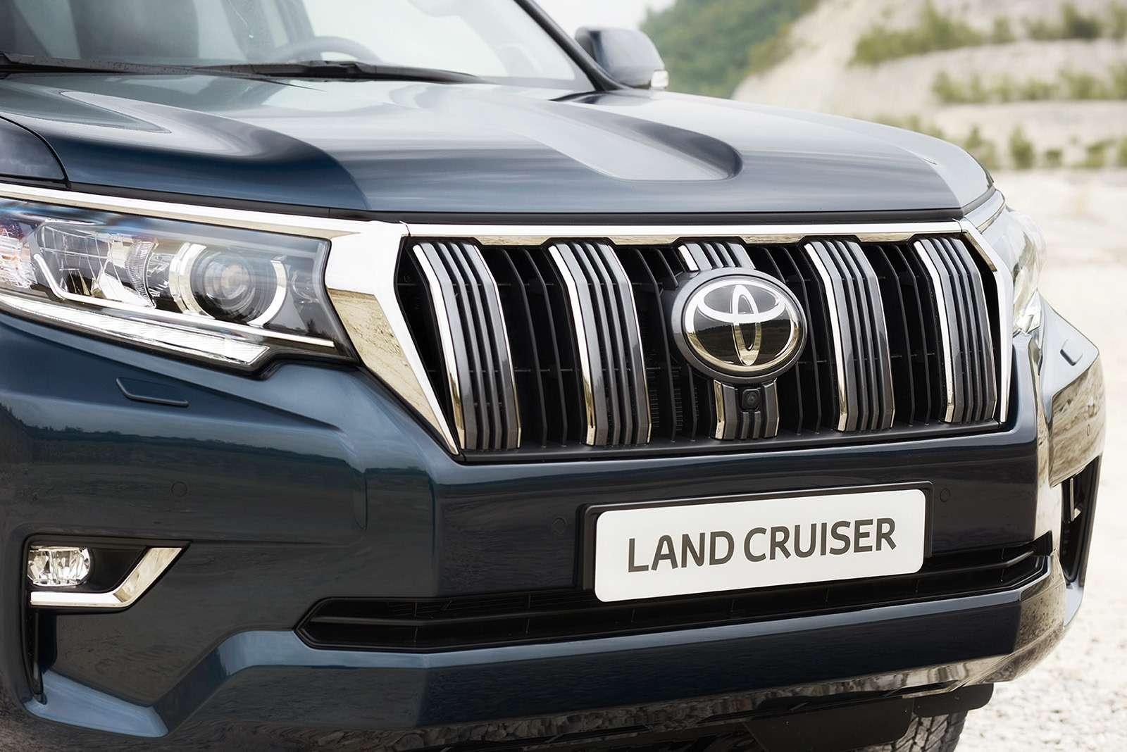 Обновленный Toyota Land Cruiser Prado— все изменения— фото 793401