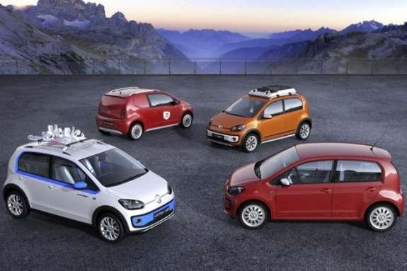 Four new Volkswagen up!-based concept-cars