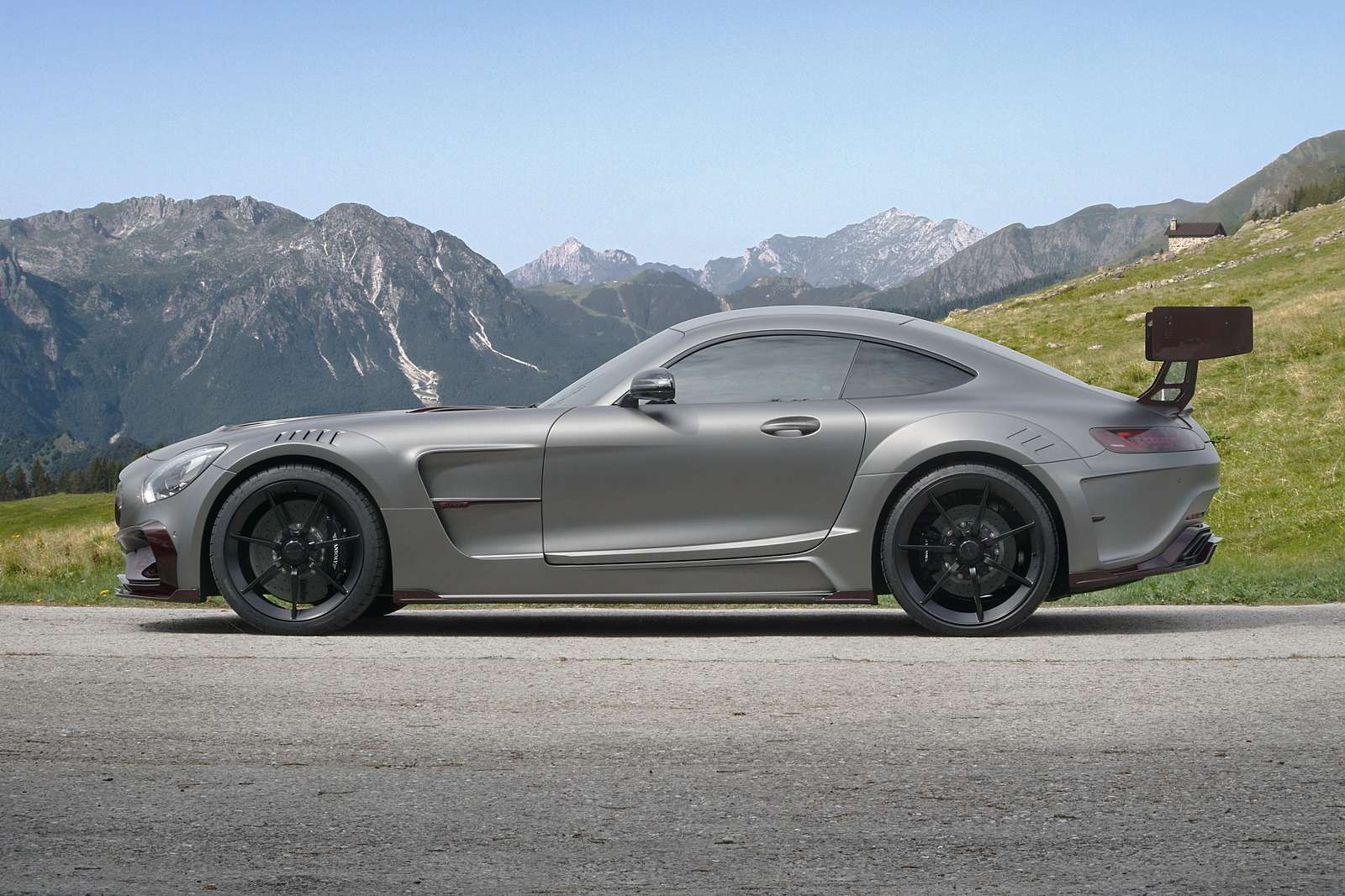 Окрыленный яростью: заряженный Mercedes-AMG GTSрвется вбой— фото 599198