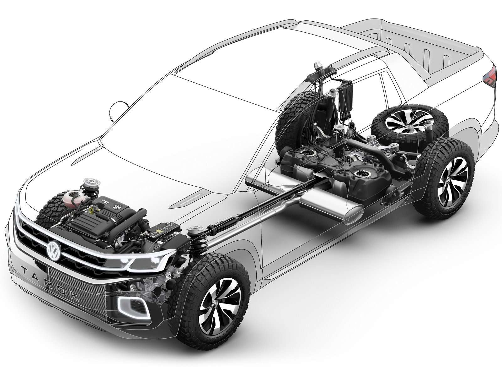 Volkswagen рассекретил новый пикап— фото 920542