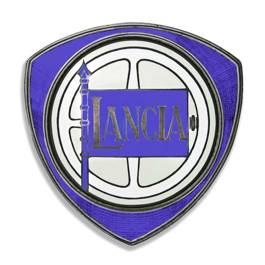 Эмблема фирмы Lancia (исполнение 1929 года)
