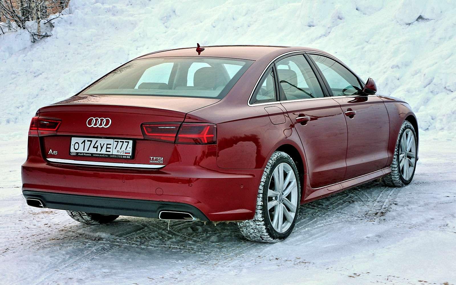 Audi A6: пора напенсию?— фото 711225