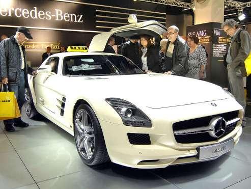 Mercedes SLS AMG Taxi_no_copyright