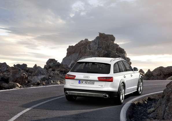 Audi A6allroad quattro/Standaufnahme