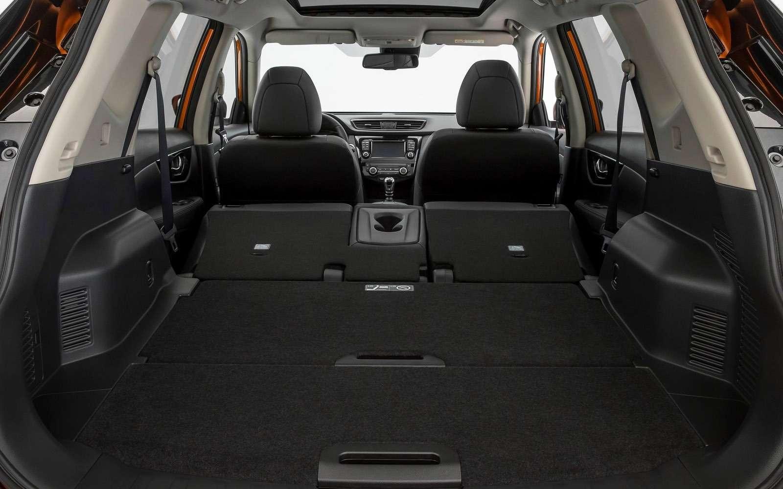 Обновленный Nissan X-Trail дляРоссии: первые подробности— фото 861104