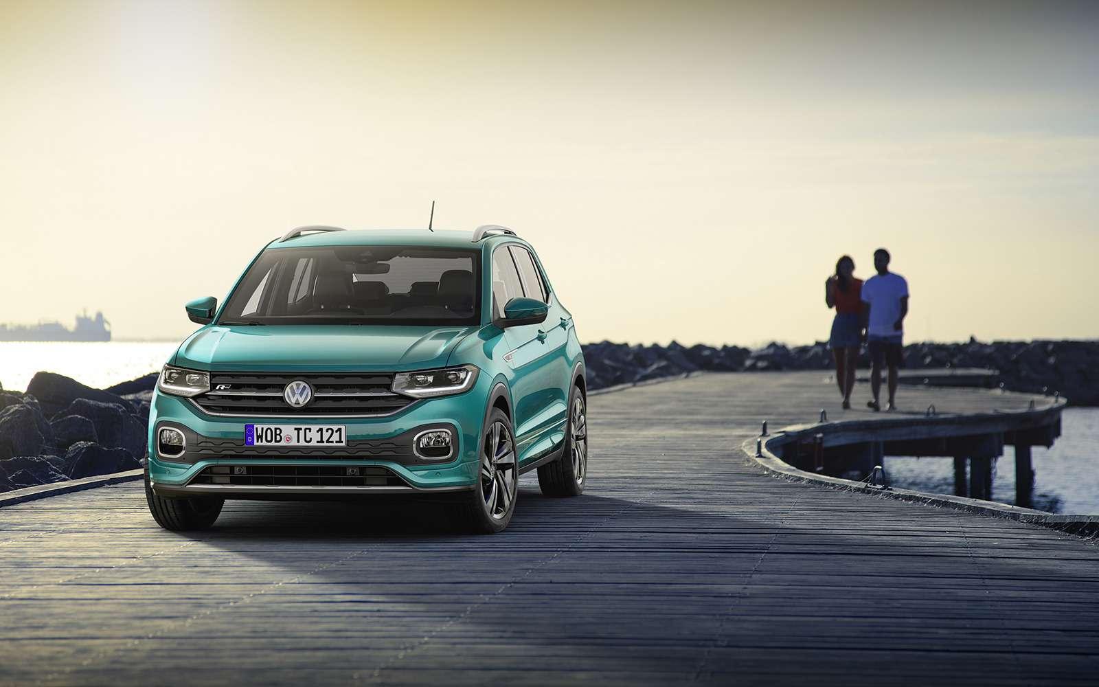 Новый кроссовер Volkswagen: онпоявится вРоссии!— фото 918194
