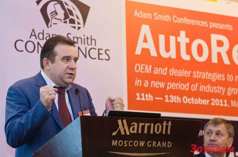 Алексей Рахманов, Директор департамента автомобильной промышленности Минпромторга России