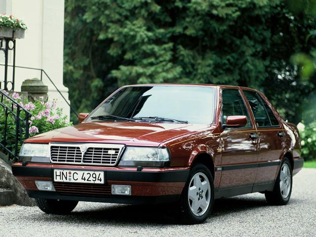 Lancia Thema 8:32 второго выпуска, 1988— 1992гг. Построено 1601 машина.