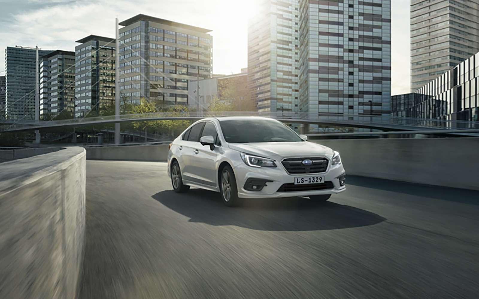 Subaru объявила российские цены наLegacy. Дорого, нокруто— фото 849353