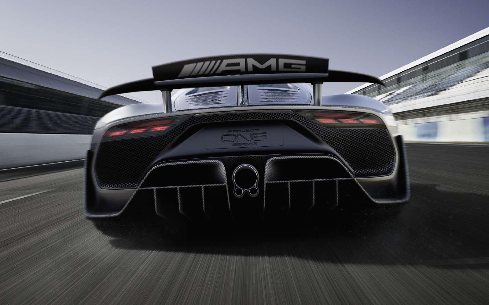 Mercedes-AMG Project One: 1000-сильный гиперкар с1,6-литровым мотором— фото 793627