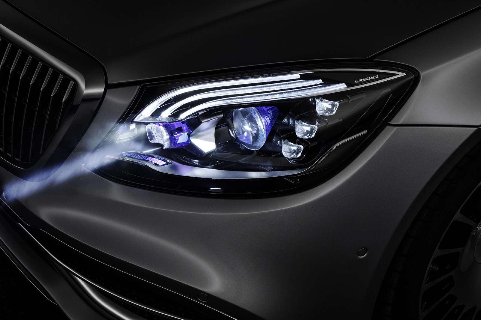 «Ярисую наасфальте»: Mercedes-Maybach представил уникальные фары— фото 851502