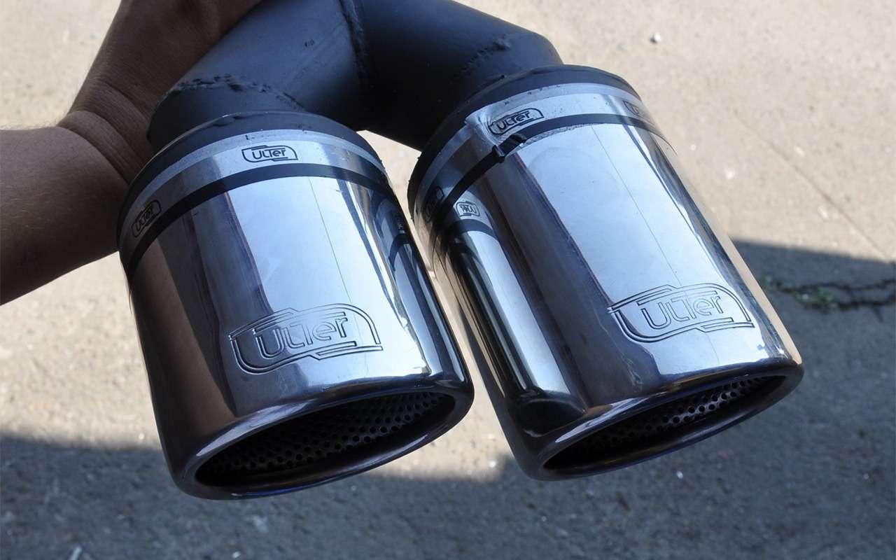 Штатные, самопальные идаже длядевочек! Подборка насадок навыхлопные трубы— фото 862370