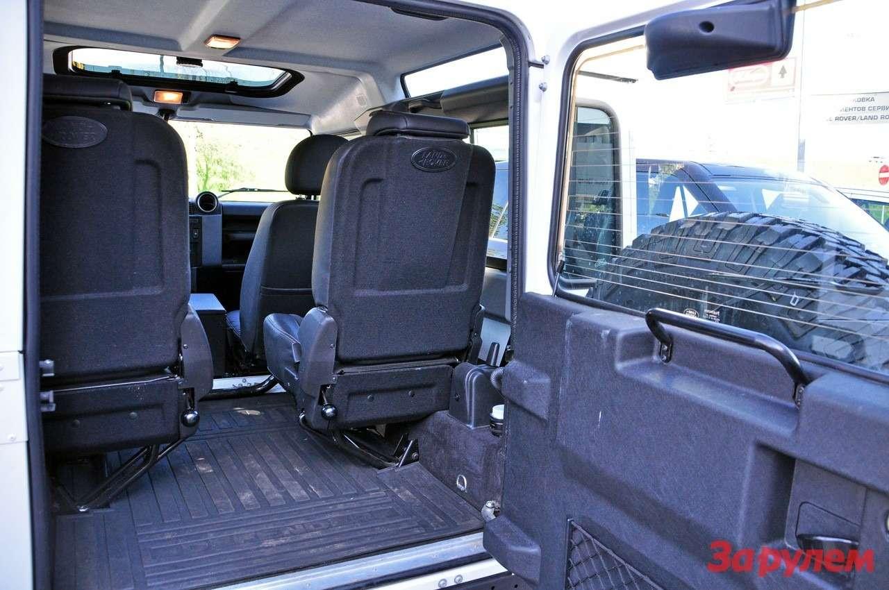 Багажник Land Rover Defender 90