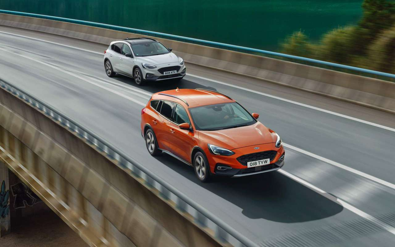 Ford показал новый вариант Focus— фото 924943