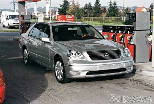Lexus ls430. Эволюция комфорта— фото 23339