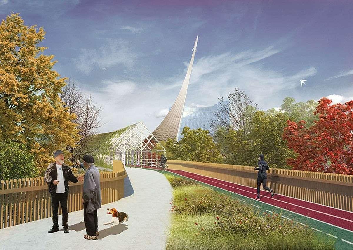 Висячие сады ибассейн: грандиозный проект реконструкции Московского монорельса— фото 886029